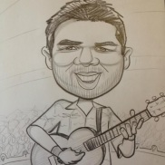 caricature done at the world famous MN State Fair!